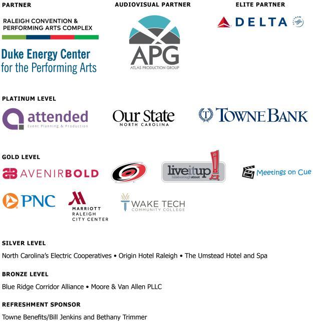 Annual meeting sponsors