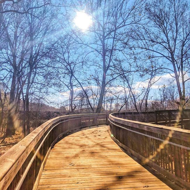 Riverwalk in November