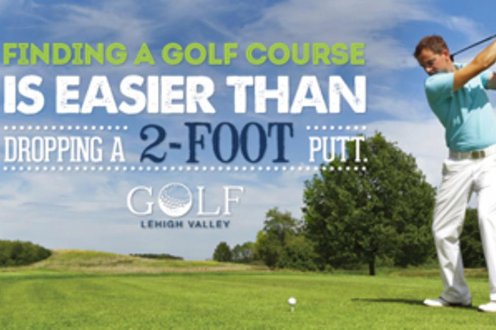 Finding A Great Lehigh Valley Golf Course Is Easier Than Dropping A Two Foot Putt