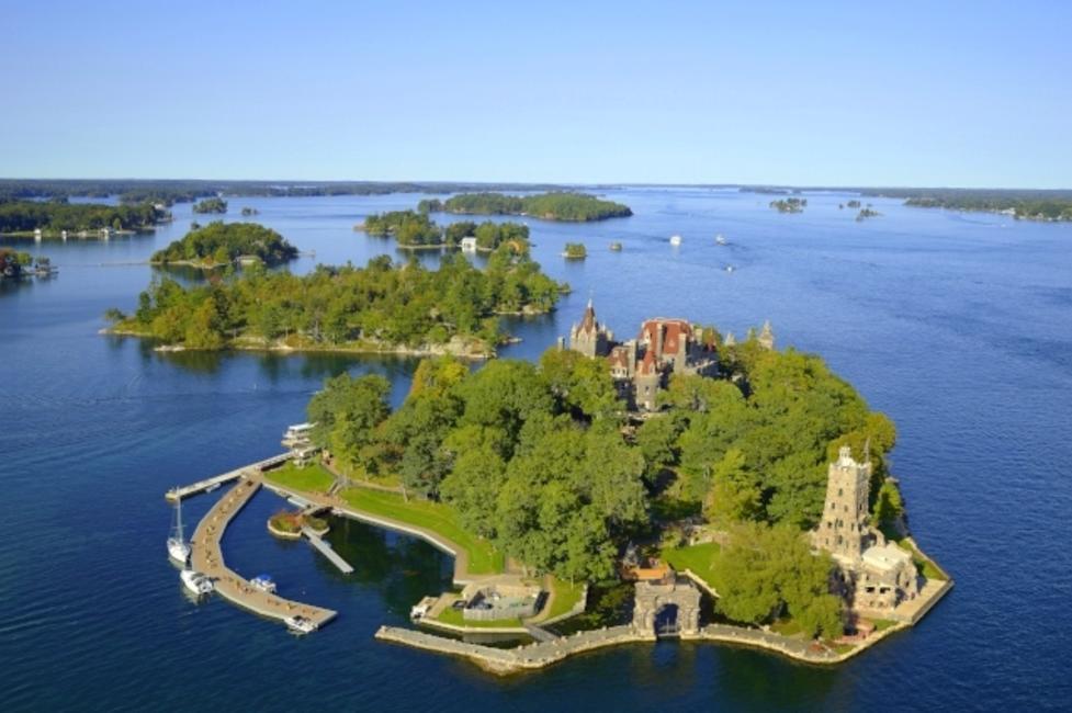boldt castle aerial