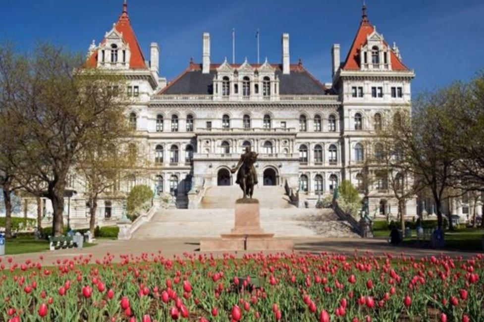 NYS Capitol - Photo Courtesy of Capital-Saratoga Tourism, Inc.