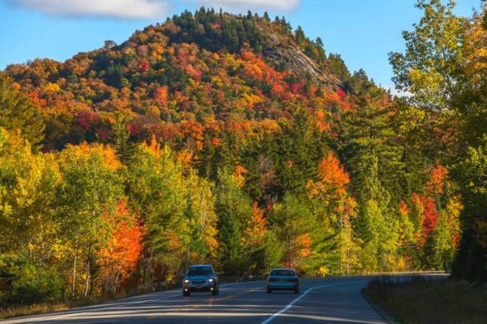 Coney Mountain from Route 30 in Tupper Lake