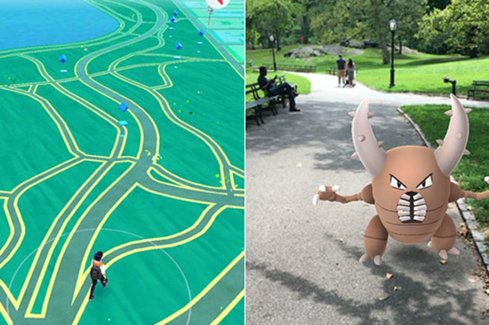 Central Park - Pokemon