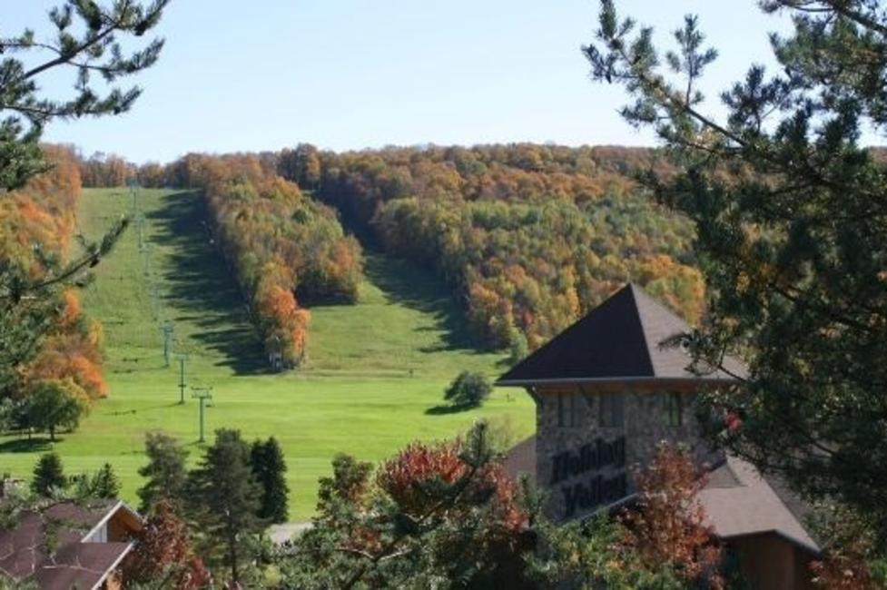 Holiday Valley Resort, Ellicottville, in fall