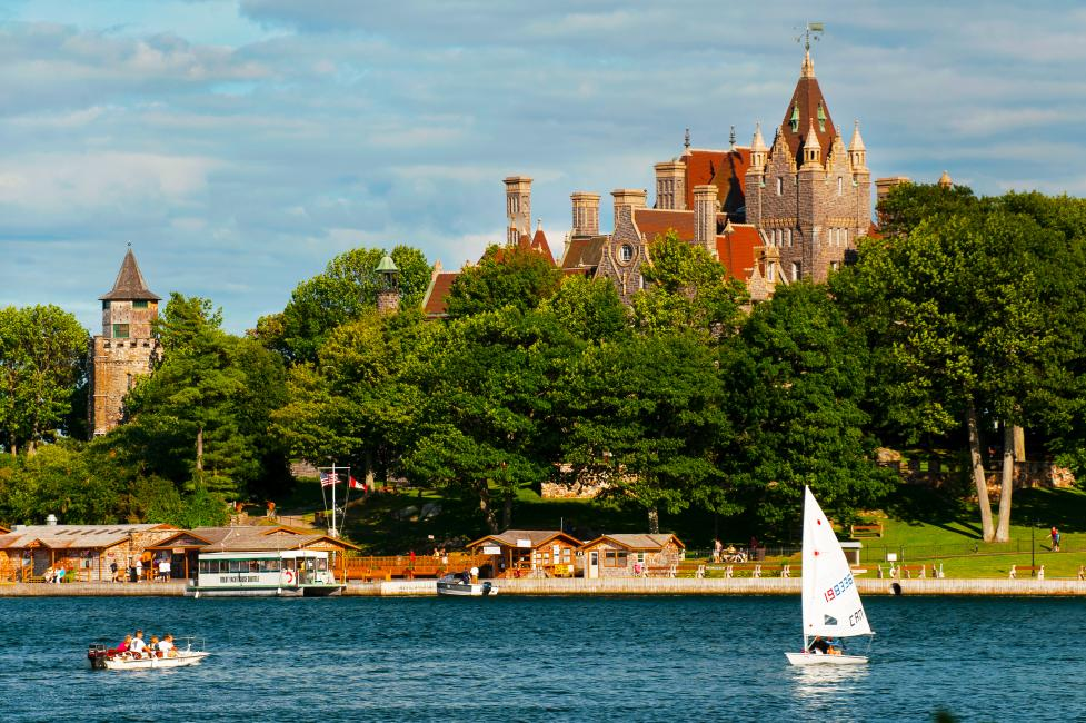 Boldt Castle in Thousand Islands