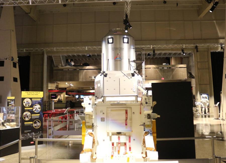 Apollo Lunar Module Dare to Explore USSRC