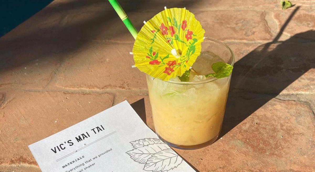 A Vic's Mai Tai from Bootlegger Tiki