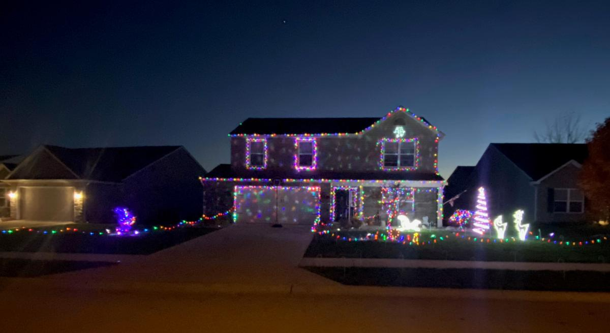 Calera Passage House Light Display by James Taylor