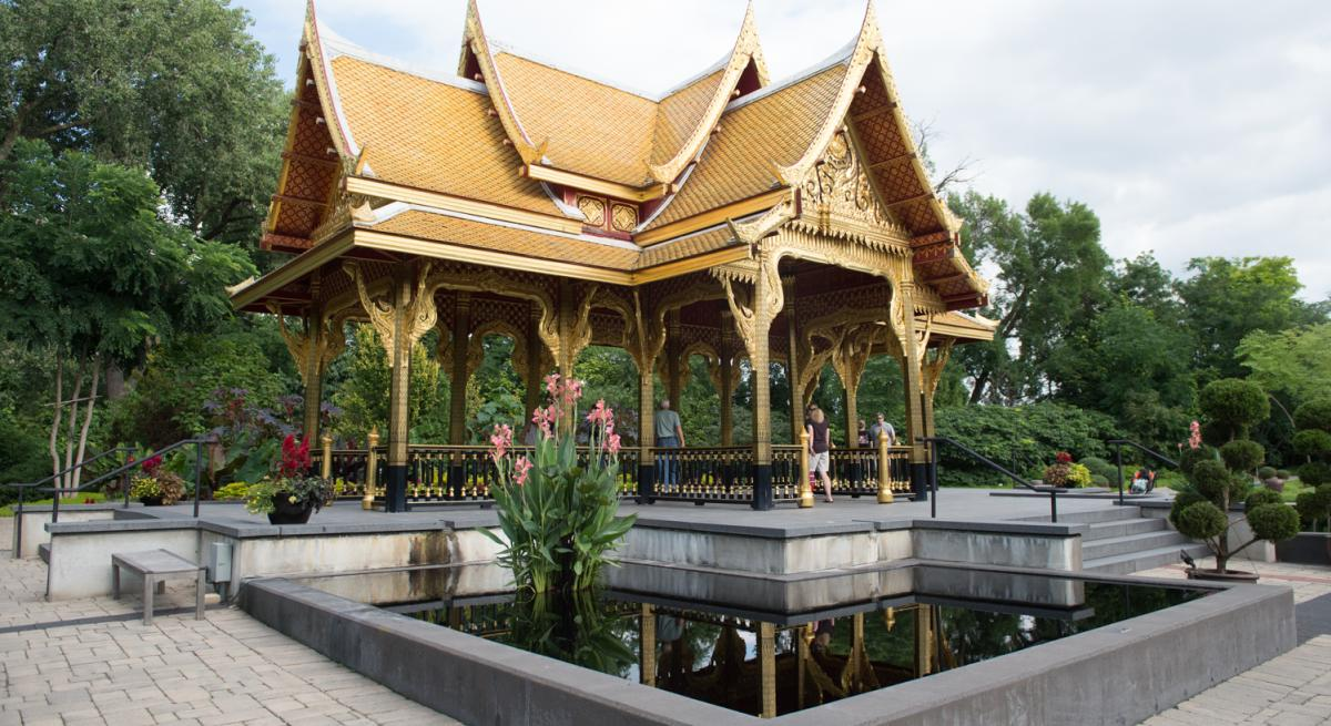 Thai Pavilion at Olbrich Botanical Gardens