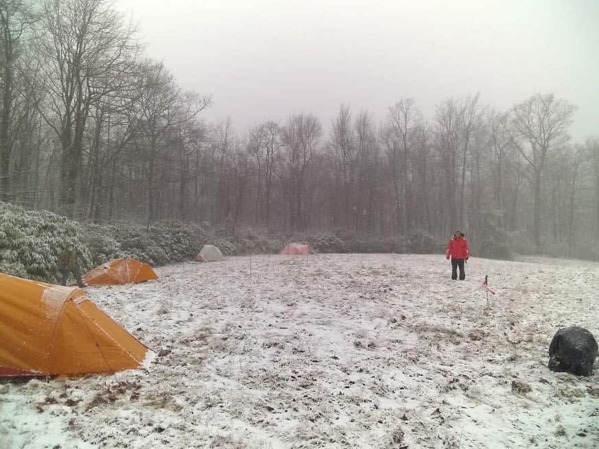 Nordic Patroller Mountain Travel Rescue Training at Laurel Summit