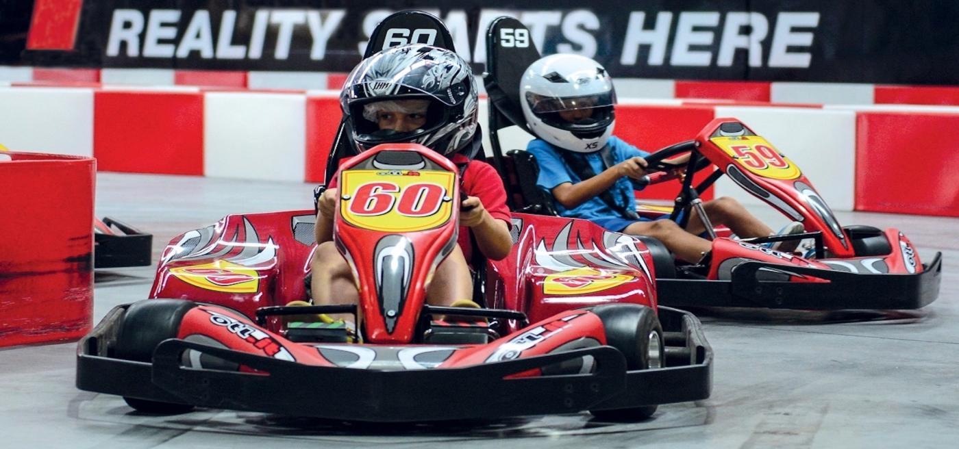 Go Karting at Game Over, Remarkables Park