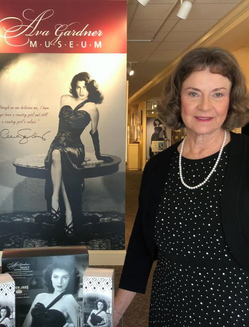 Ava Thompson at Ava Gardner Whiskey Launch
