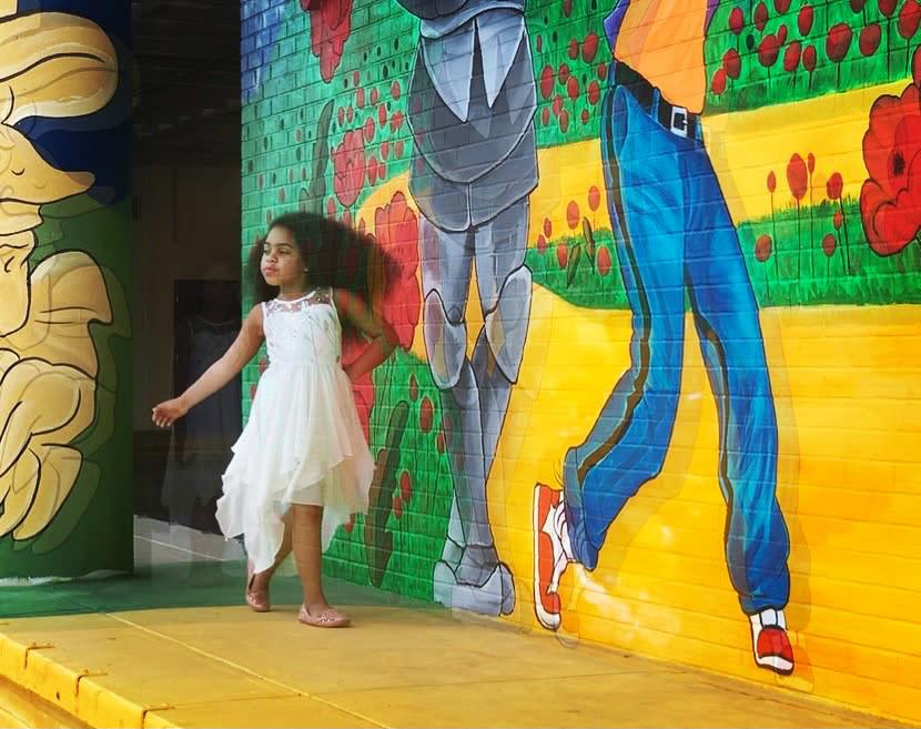 Wizard of Oz Mural   Downtown Topeka, KS - @emharvey08_