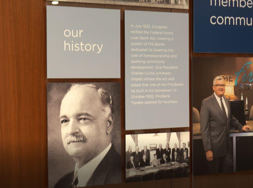 FHLBank - History Plaque | Topeka, KS
