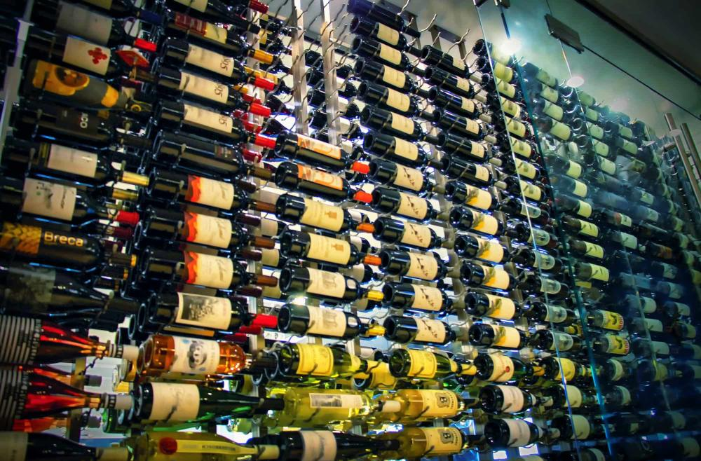 Wine Wall at Chisholm's
