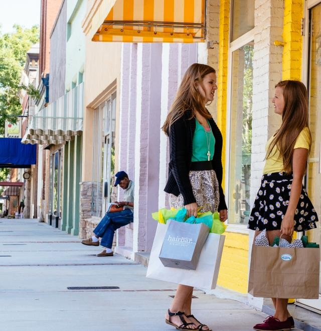 Downtown Girls Shopping