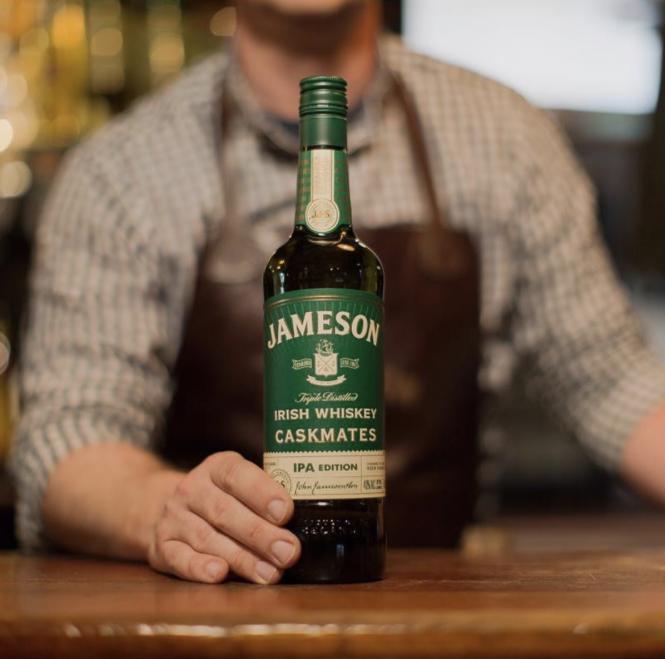 Jameson Irish Whiskey Caskmates at Galway Bay.