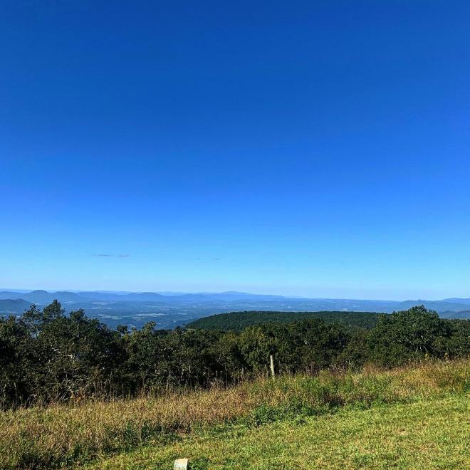 Apple Orchard Mountain - Blue Ridge Parkway