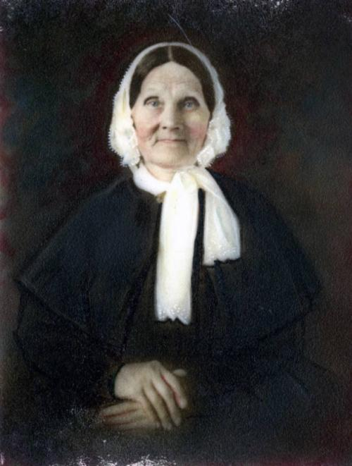 Margaret Christian Russell Cowan Humes Ramsey (1777-1854). (McClung Historical Collection)