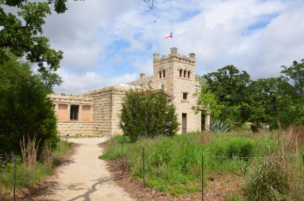 exterior of Elisabet Ney Museum in austin texas