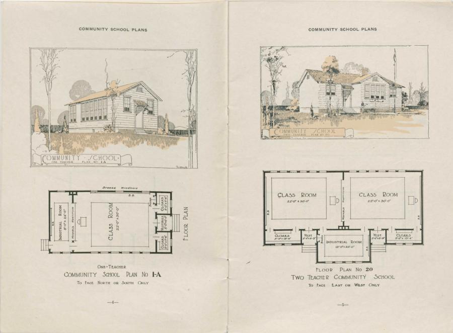 Rosenwald School Plans