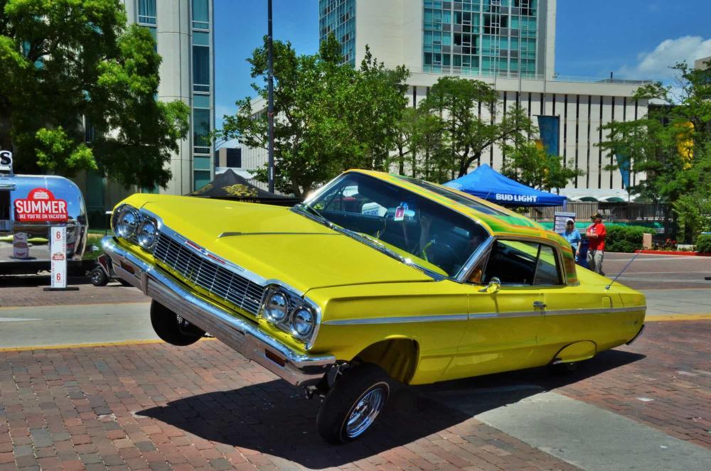 Wichita Riverfest Classic Car Show