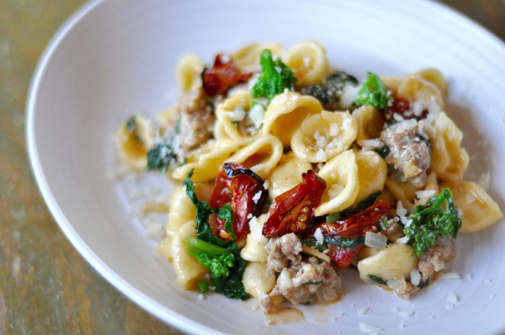 Orrechiette With Garlic And Fennel Pork Sausage from Red Ash in Austin Texas