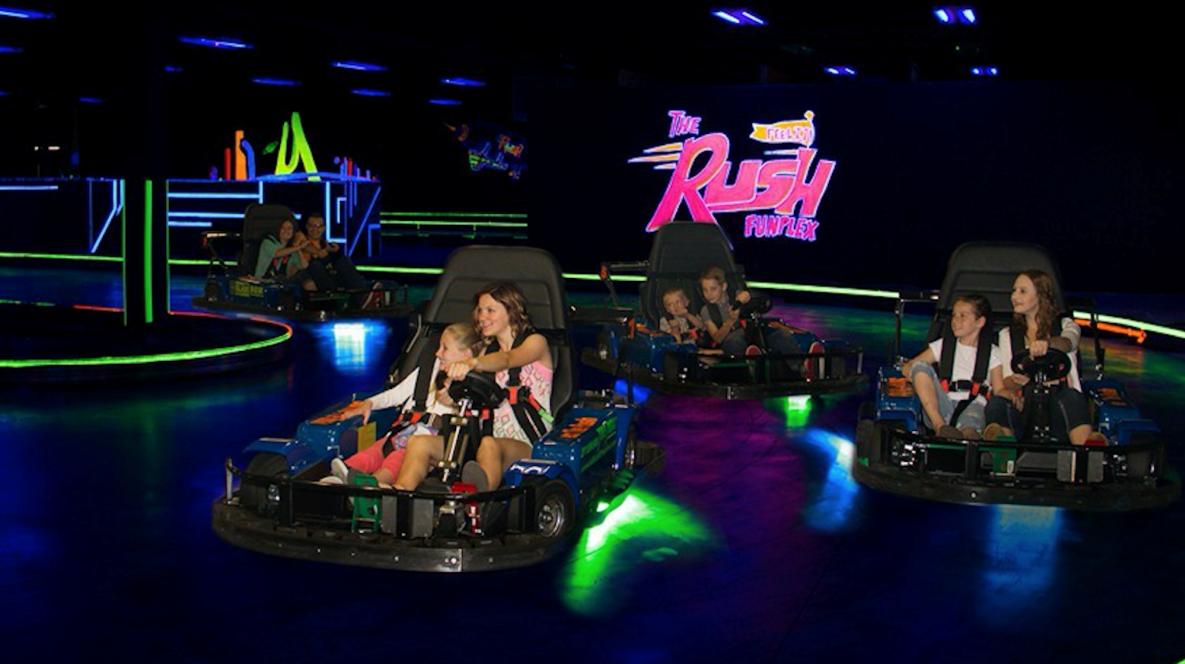 Rush Bumper Cars