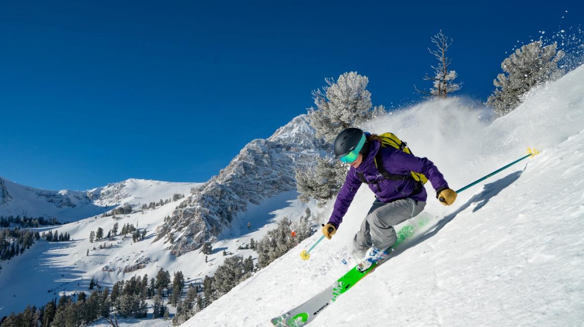 Skiing at Snowbasin Resort