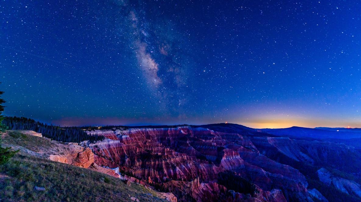 Dark Sky Views at Cedar Breaks National Monument