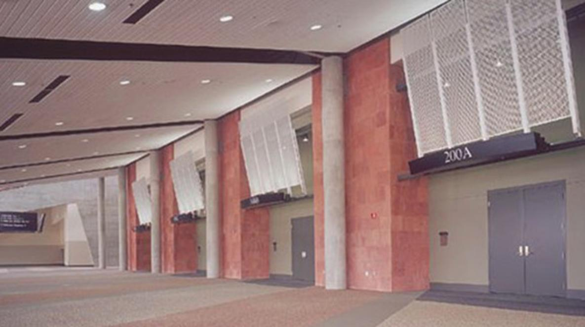 Meeting Room Concourse at Mountain America Expo Center
