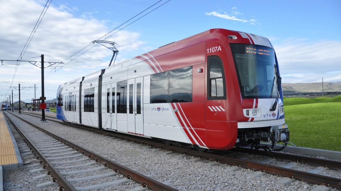 UTA Frontrunner TRAX