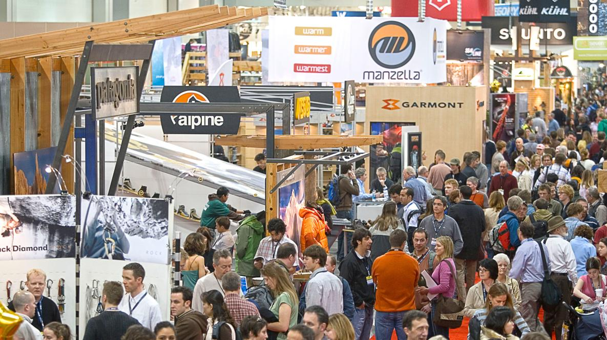 Outdoor Retailer Crowds