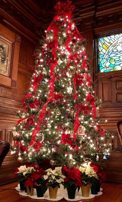 Cedar Crest Inn Christmas Tree