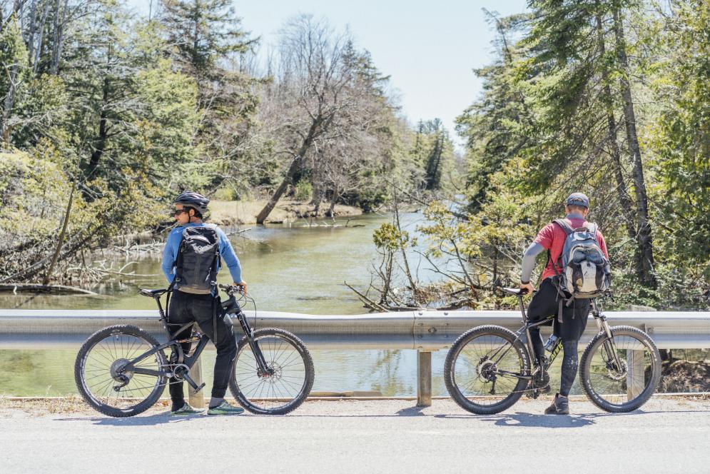 Biking on the Heritage Trail - Sleeping Bear Dunes