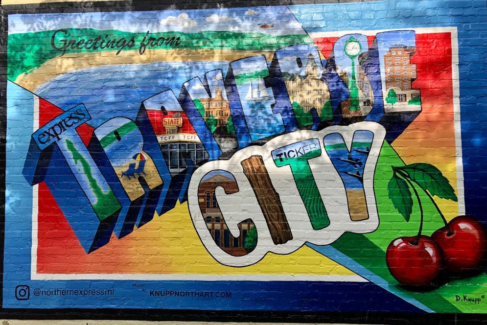 TC Postcard Mural