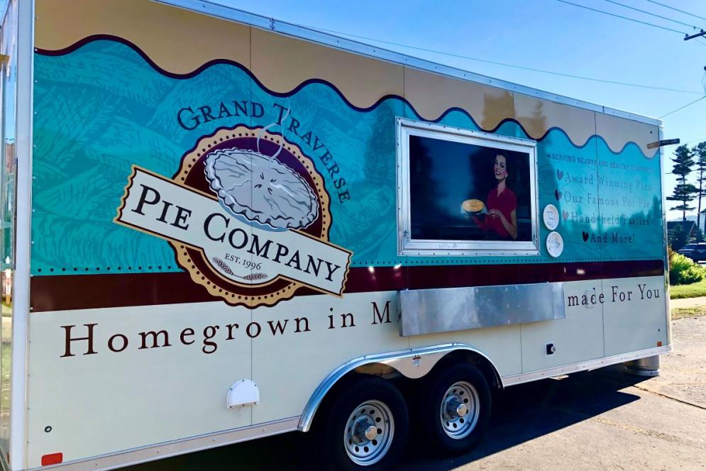 Grand Traverse Pie Company Food Truck | Genevieve