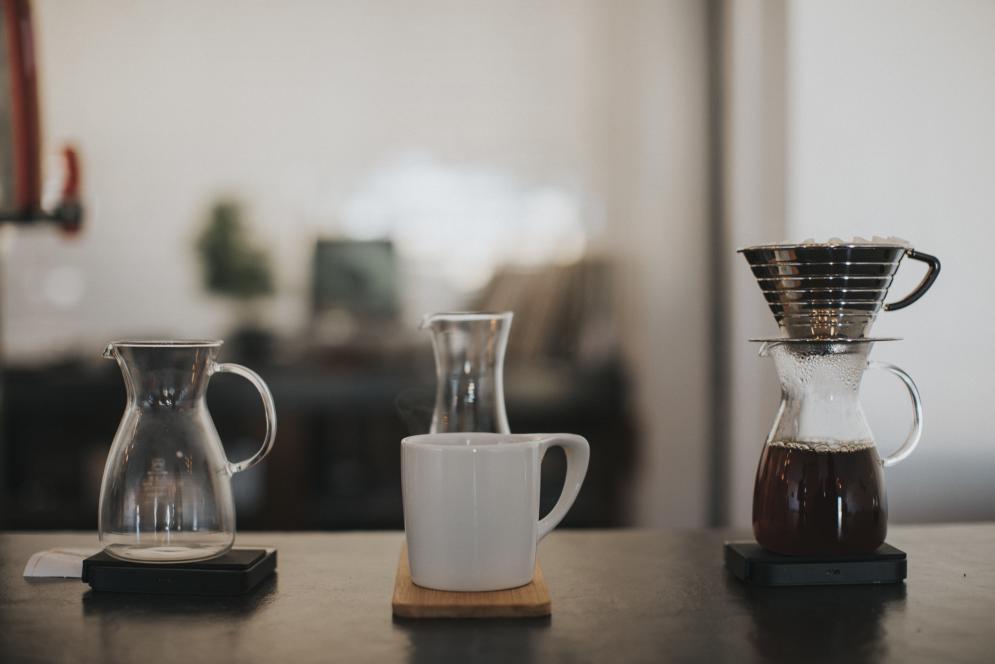 Caffeinated goodness at Mundos Roastin & Co. in Traverse City, Michigan.