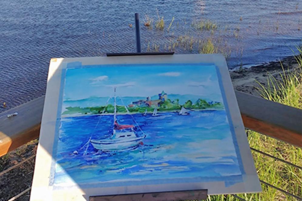 Adam VanHouten Painting