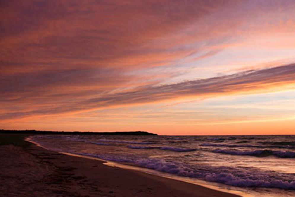 Sunset in Leelanau County