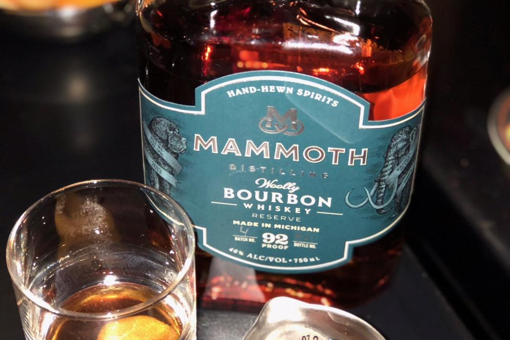 Whiskey at Mammoth Distilling