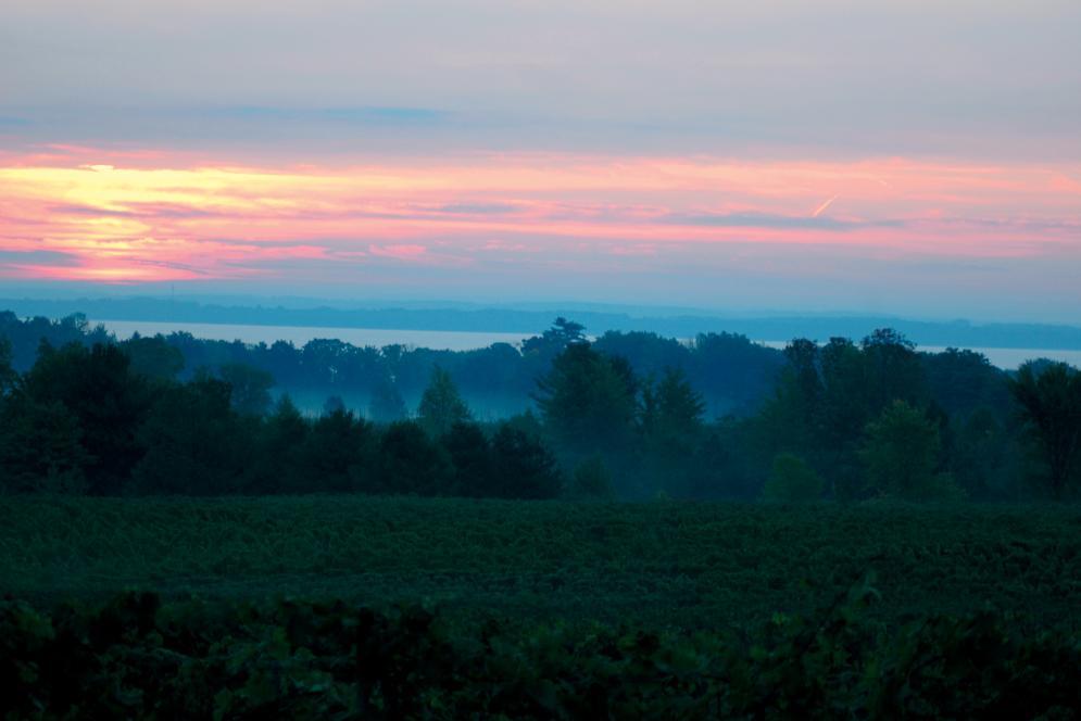 Sunrise on the Old Mission Peninsula
