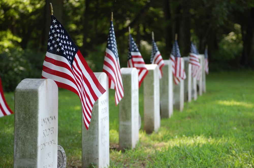 Graves at Washington Crossing Historic Park