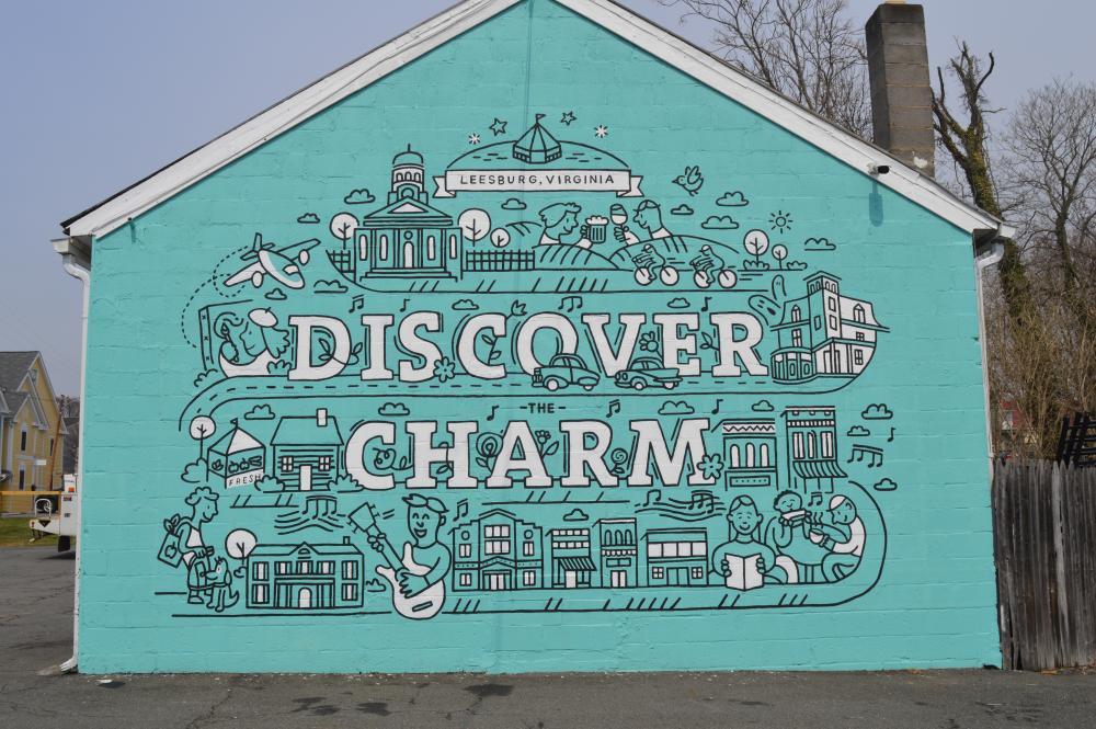 Discover Charm Mural, Loudoun County Virginia