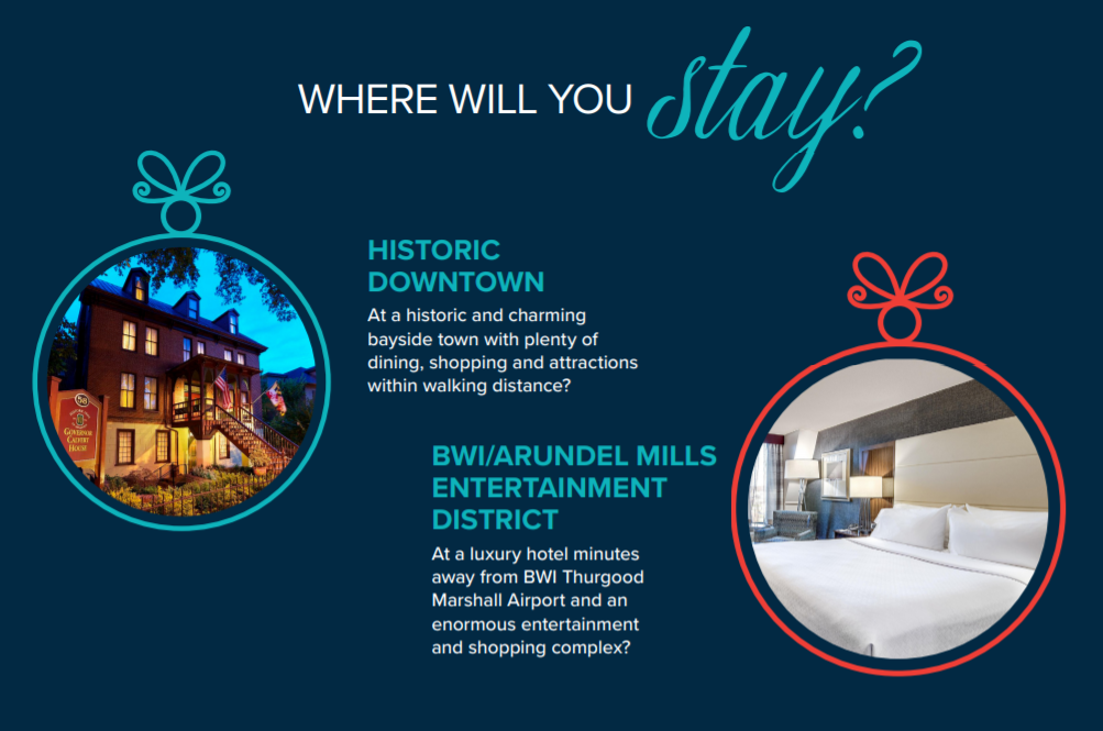 Where will you stay graphic