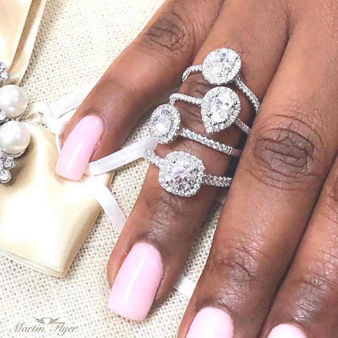 Diamond Engagement rings available at Smyth Jewelers.