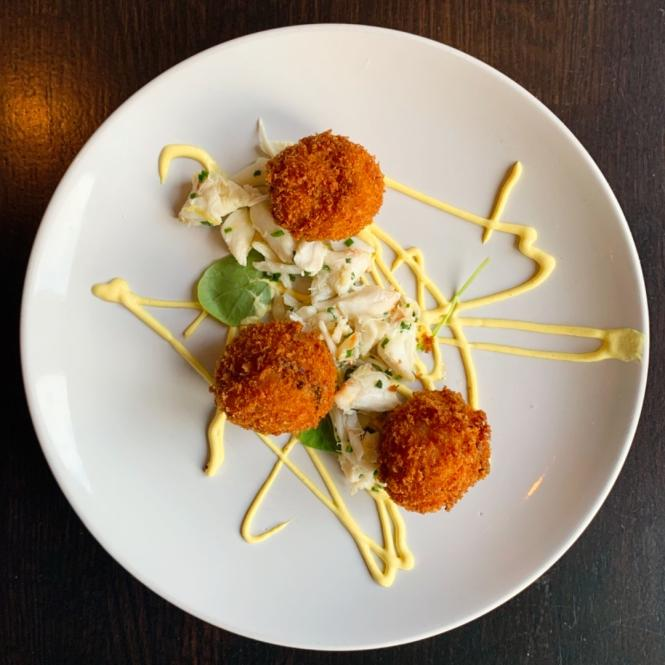 Arancini from Level Small Plates Lounge.