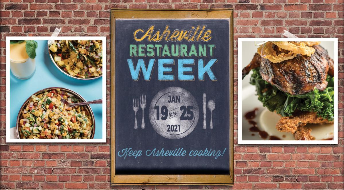 Asheville Restaurant Week, January 19-25, 2021
