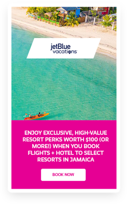 Jet Blue Travel Deals