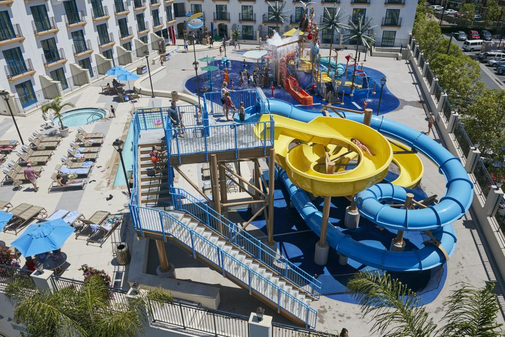 Image of Surfside Waterpark at Courtyard by Marriott Anaheim Theme Park Entrance
